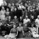 ст. Пашковская. Средняя школа № 4. 7-й класс, 1953 год