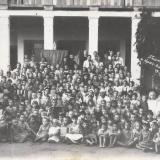 """Пионер-лагерь """"КРАС-ГЛАВЖИР-МАСЛО"""". 17 июля 1945 года."""