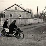 Посёлок Пашковский Пересечение улиц Красной и Сычевой, 1958 год