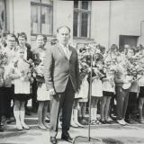 Краснодар. Праздник 1 сентября. Школа №2, 1964 год
