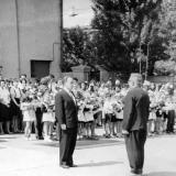 """Краснодар. Праздник """"Первый Звонок"""", школа №2. 1964 год"""
