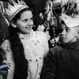 Краснодар. Предновогодний утренник в начальной школе №3 г. Краснодара, 1957 год