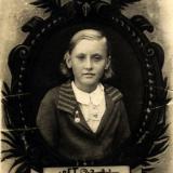 Краснодар. Школьница, школа №13, 1938 год
