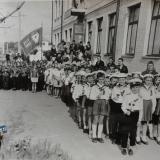 Краснодар. У Школы № 56, 1969 год
