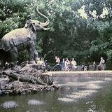 Краснодар. Сквер Дружбы, 1970 год