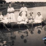 ст. Пашковская. На берегу Карасуна, 21 июня 1953 года