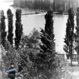 Краснодар. Вид на Старую Кубань с колеса обозрения, 1963 год