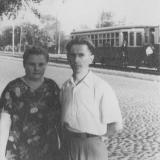 Краснодар. Улица Карла Либкнехта, сентябрь 1957 года.
