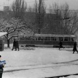 Краснодар. Перекресток ул. Ставропольской и Стасова, 1986 год