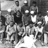 Краснодар. Строительство плотины кубанского моря, 1969-1971 годы