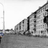 Краснодар. ул.Герцена с видом на ул.Атарбекова, 1976 год