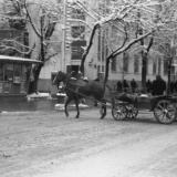 Краснодар. Улица Красная, перекресток с ул.Пашковской, 1970 год