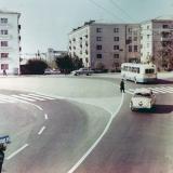 Краснодар. Улица Красная, перекрёсток с Офицерской. Март 1971 года.