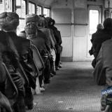Краснодар. В вагоне утром, 1985 год