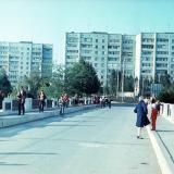 Краснодар. Вход в Парк 40 лет Октября, конец 1980-х