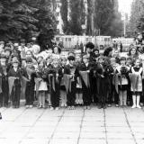 Краснодар. Посвящение в пионеры, 9 мая 1991 года.