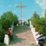 Архипо-Осиповка. Памятный крест Архипу Осипову