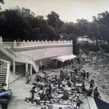 Геленджик. Набережная и пляж д/о Черноморец, конец 1950-х