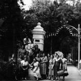 Горячий ключ. У входа в парк в 50-е годы.