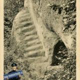 Горячий Ключ. Грот и лестница имени Гоголя, до 1917 года