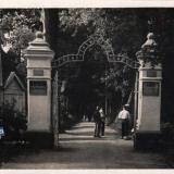 Горячий ключ. Вход в парк, 1938 год