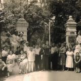 Горячий Ключ. Вход в парк, 1956 год