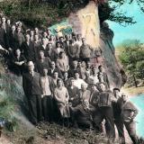 Горячий Ключ. У подножия скалы Петушок, 1965 год