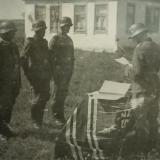 Майкоп,1942, награждение немецких солдат#1