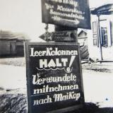 Майкоп. Дорожный указатель, 1942 год