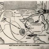Карта военных действий в борьбе за Новороссийск