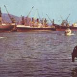 Нороссийск. Морской торговый порт.