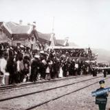 Новороссийск. 1888 год. 25 июня. Открытие ж/д движения Министром путей сообщения