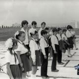 Новороссийск. 1984 год. Прием в пионеры школьников 3 класса школы №3 г.Краснодара
