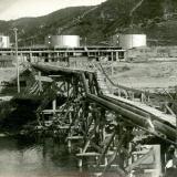 Новороссийск. Мост от резервуаров к нефтяной гавани, 3 апреля 1929 года