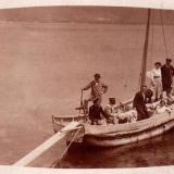 Новороссийск. Общий вид на бухту, 1913 год