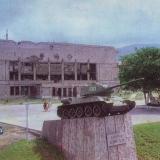 """Новороссийск. Памятник """"Героям-танкистам"""", 1985 год."""