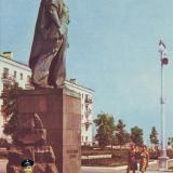 Новороссийск. Памятник Неизвестному матросу. 1968 год.