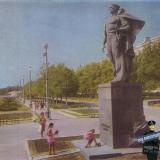 Новороссийск. Памятник Неизвестному матросу. 1969 год.