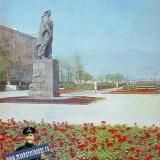 """Новороссийск. Памятник """"Неизвестному матросу"""", 1985 год."""