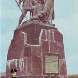 Новороссийск. Памятник рыбакам. 1968 год.