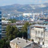 Новороссийск. Вид на город с высоты птичьего полета, 2014 год