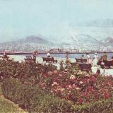 Новороссийск. Вид с набережной. 1968 год.