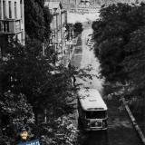 Новороссийск. Улица Новороссийской Республики, вид на северо-восток, 1966 год