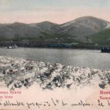 Новороссийск. Зимний вид бухты, 1899 год