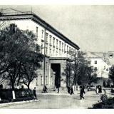 Новороссийск. Здание индустриального техникума, 1966 год