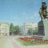 """Новороссийск. Памятник """"Воинам - защитникам города"""", 1985 год."""