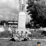 Новороссийск. Перекрёсток дороги на п.Абрау-Дюрсо, август 1963 года.