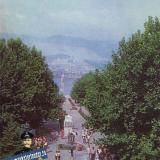 Новороссийск. Площадь Героев, 1985 год.