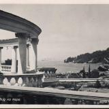 Хоста. Вид на море, 1954 год
