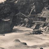 Красная поляна. Греческий мостик, до 1917 года